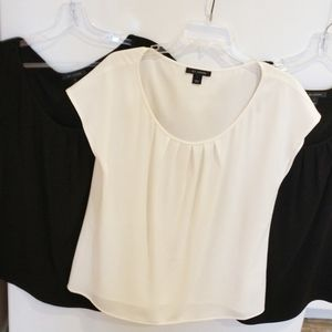 3 St John classic blouses - career wear
